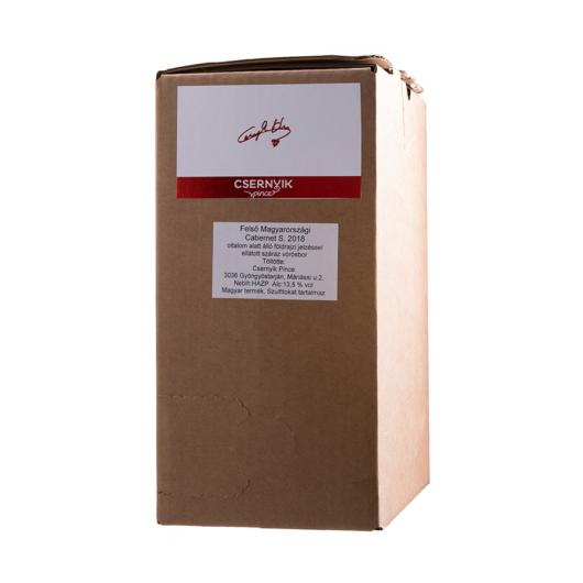 CSERNYIK CABERNET SAUVIGNON BAG IN BOX 5L