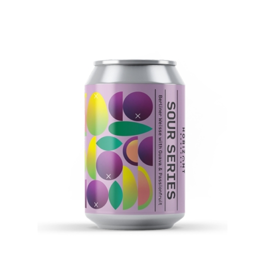 HORIZONT SOUR SERIES BERLINER WEISSE WITH GUAVA AND PASSIONFRUIT 0,33L